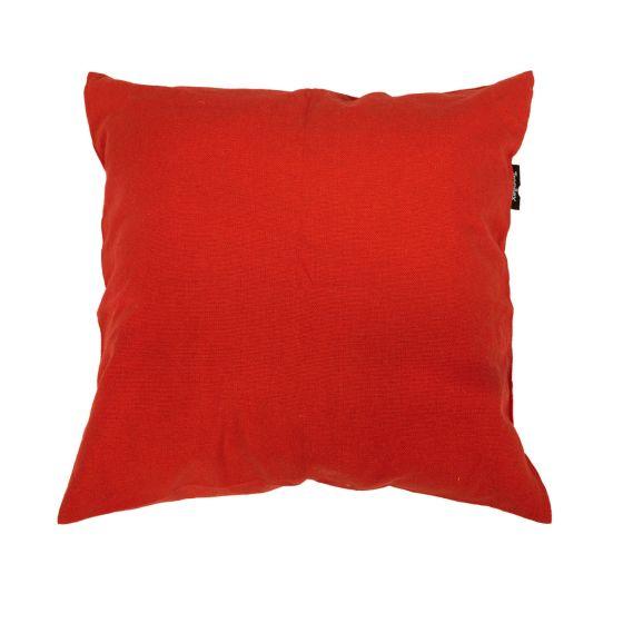 Cojín Plain Red