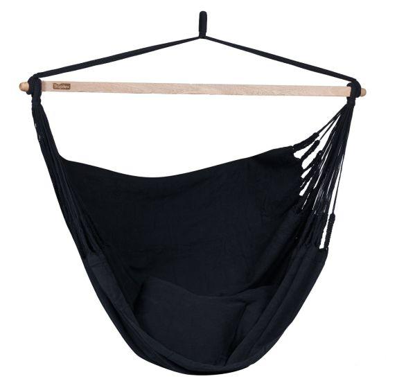 Hamaca-silla Doble Luxe Black