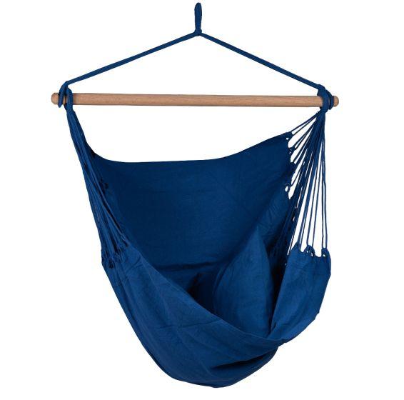 Hamaca-silla Individual Organic Blue