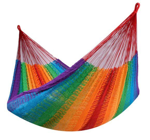 Hamaca Doble Mexico Rainbow