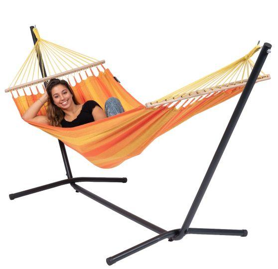 Hamaca con Soporte Individual Easy & Relax Orange