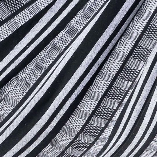Plaid Comfort Black White